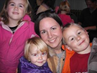 Jen & kids