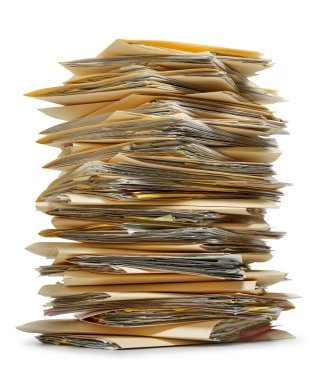 Does This Stack Of Papers Look Familiar? Does It Look Like Your Home Office  Paperwork? If So, Itu0027s Time To Get Organized.